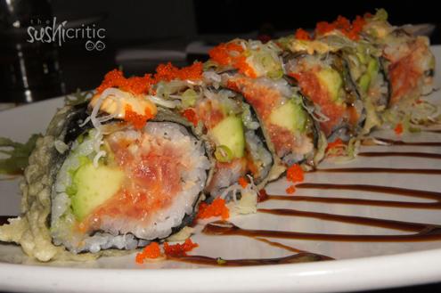 Fried Dragon Roll Lotus Sushi, Farmingda...